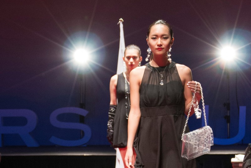 MAKERS UNIVERSITYのイベント時には、ファッションショーが!