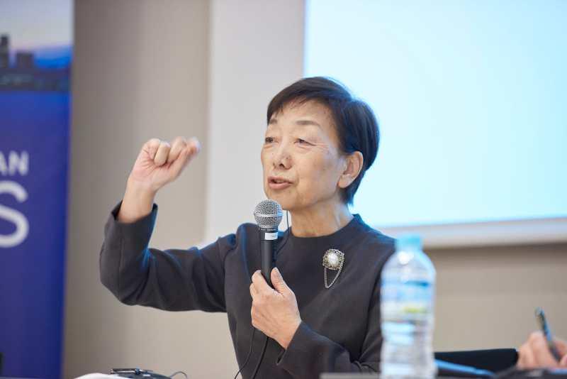 """社会起業家たちの""""母""""、石川治江さん"""