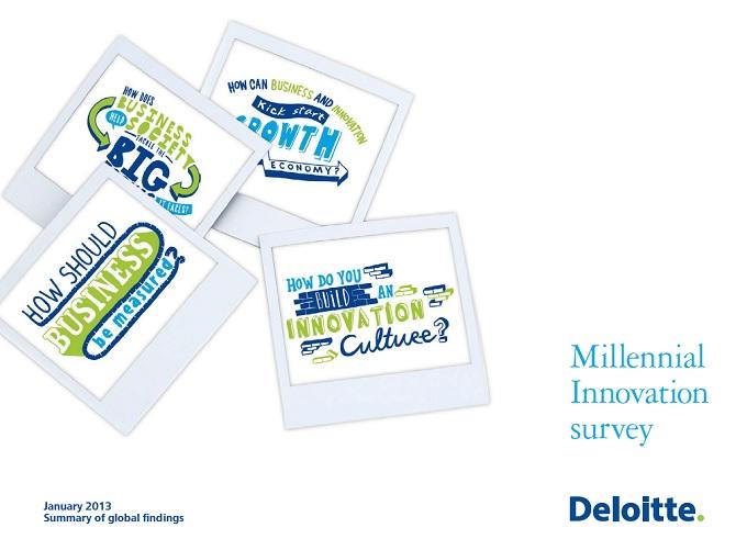 デロイト社によるミレニアル世代レポート
