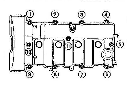 Замена ремня ГРМ Мазда 626 с двигателем 2.0