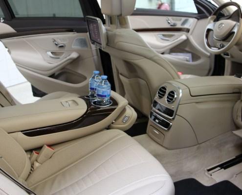 Mercedes S class Limousine Interior