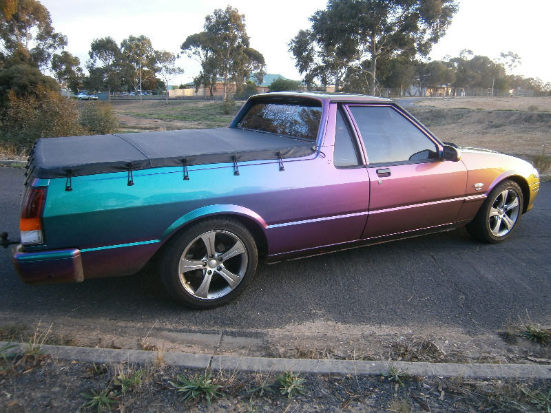 96 Ford xr6 harlequin paint job