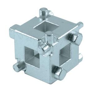 Brake piston cube