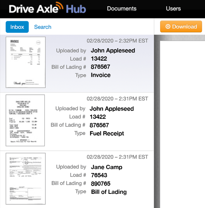 Easy Document Management with Drive Axle Hub
