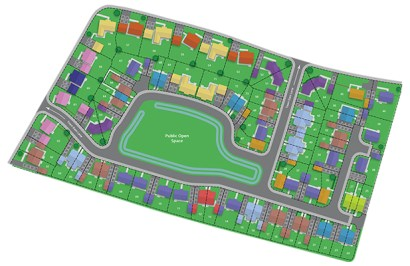 donington site plan
