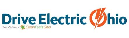 Drive Electric Dayton and Drive Electric Ohio logo