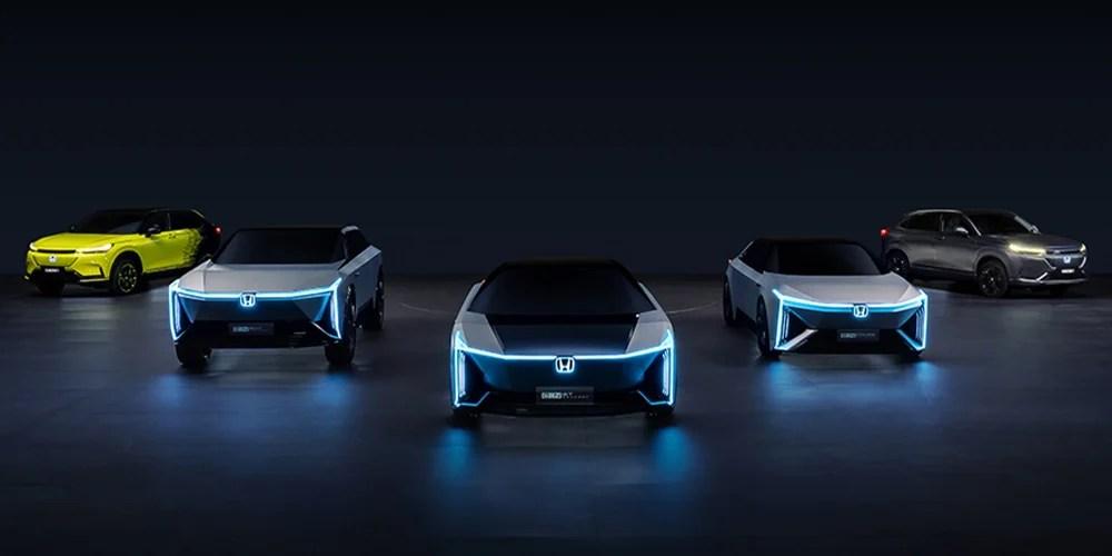 Honda EV line-up for China