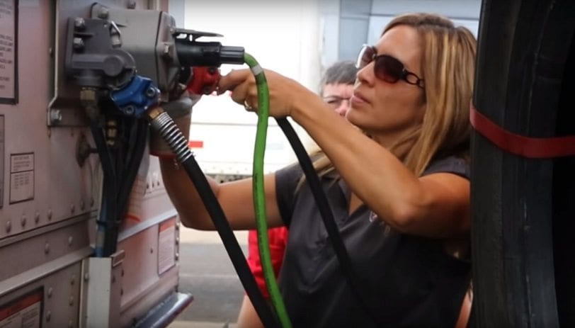 Women Truck Drivers Growing