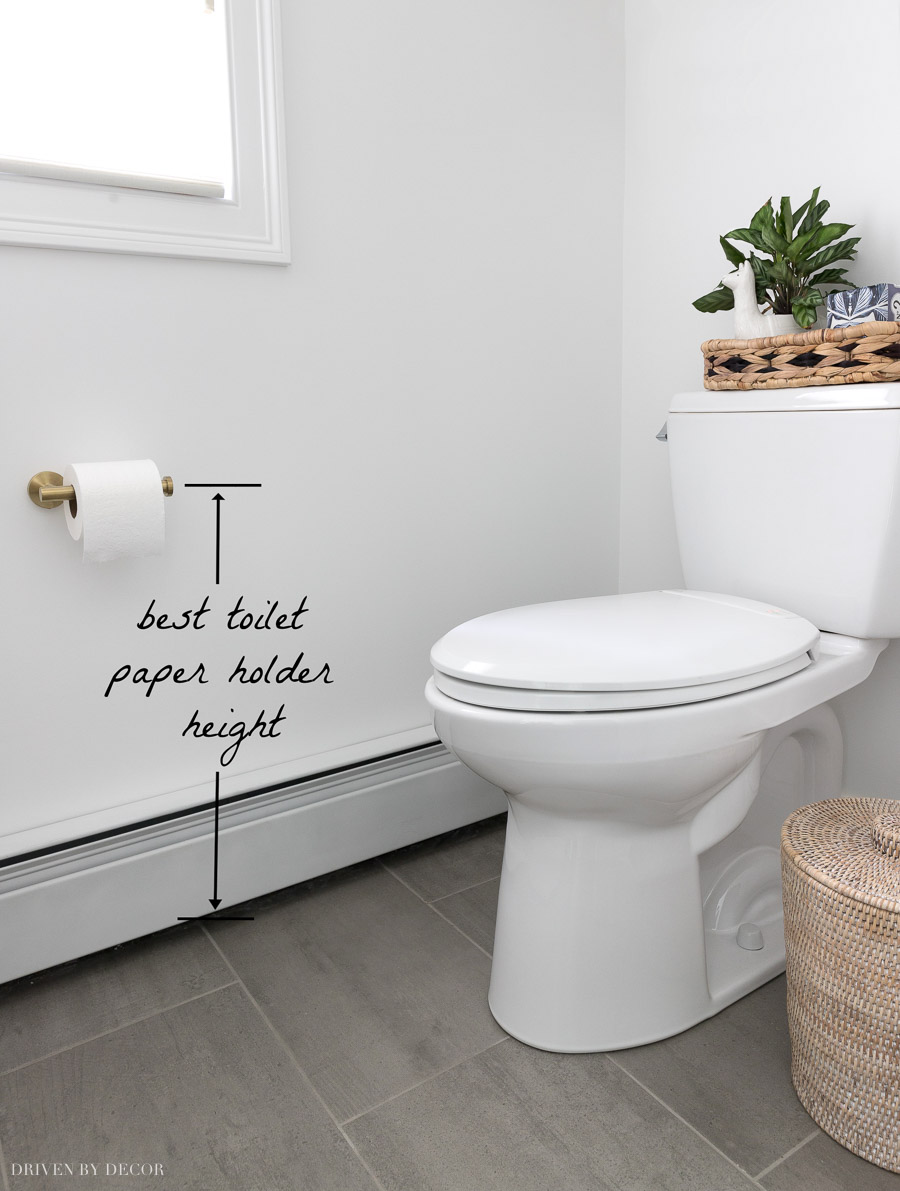 bathroom - Toilet paper to the left or right? - Home
