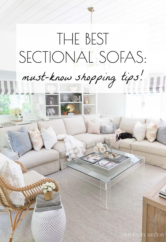 Farmhouse Style Sectional : farmhouse, style, sectional, Sectional, Sofa:, Shopping, Tips!, Driven, Decor