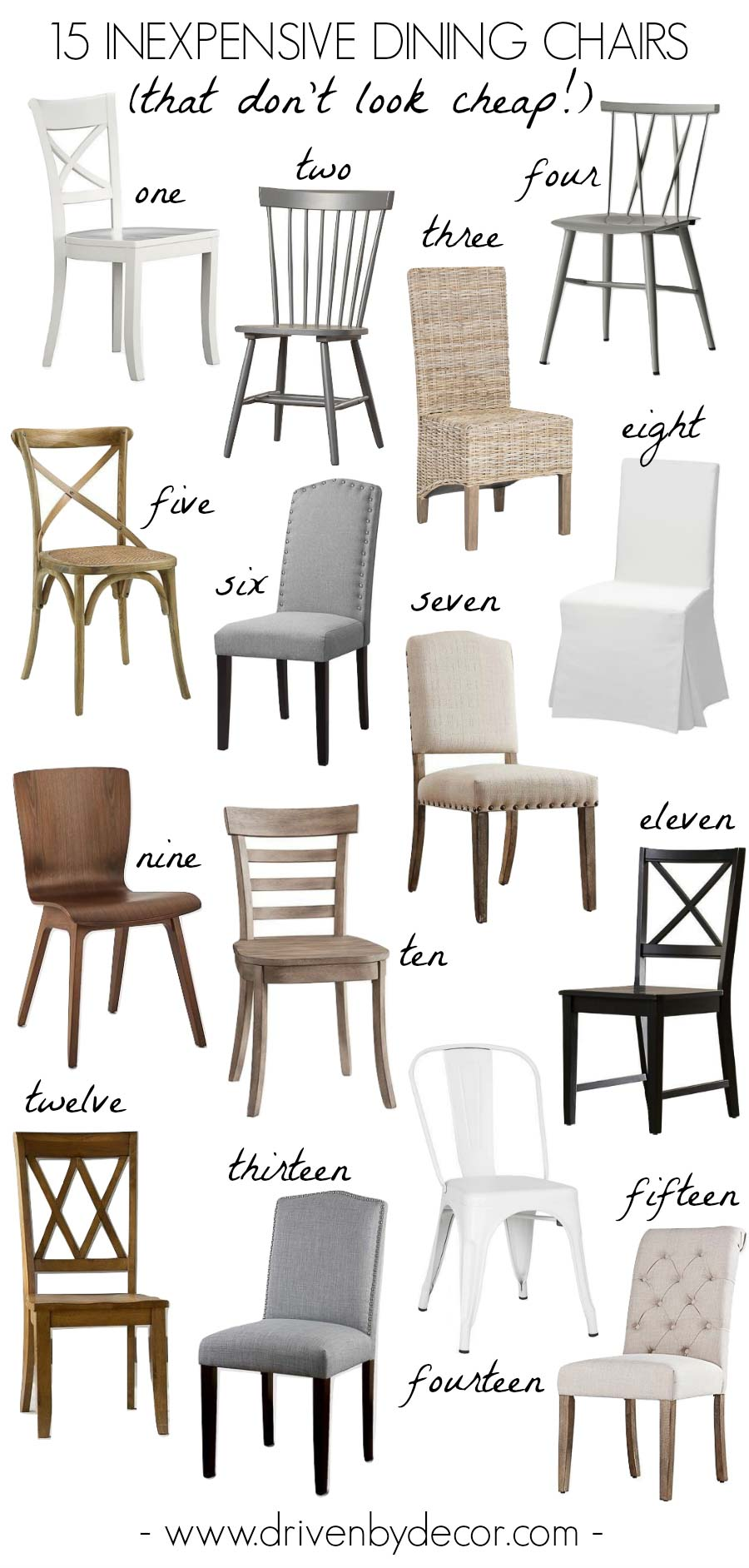 Inexpensive Chairs 15 Inexpensive Dining Chairs That Don T Look Cheap Driven By