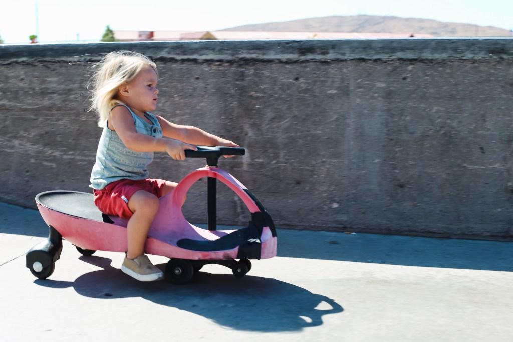 red wiggle bike