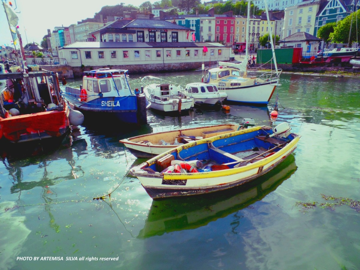 Cobh: Titanic, Lusitania and other sad stories of this picturesque town in the south of Ireland