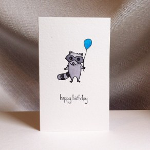 Raccoon Birthday