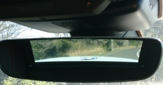 jag rear mirror