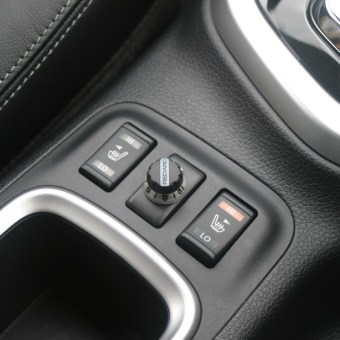 navara heated seat