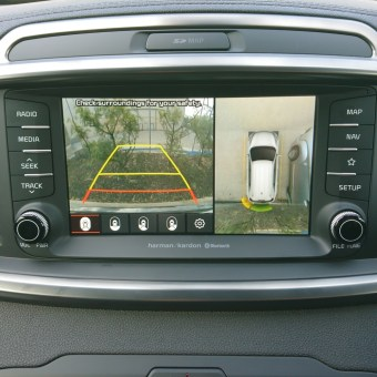 sorento rear view camera