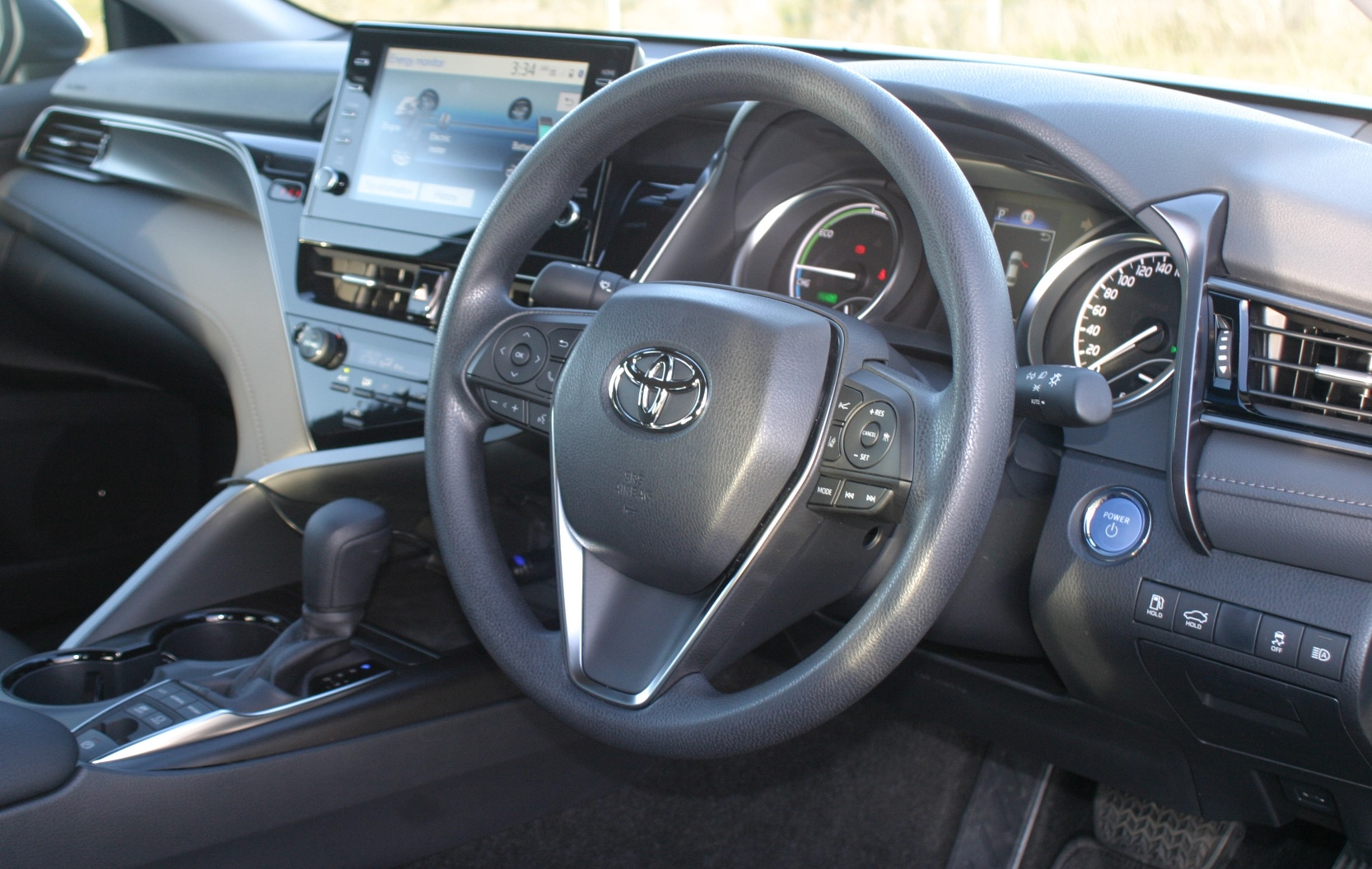 Toyota Camry Ascent Hybrid Steering Wheel