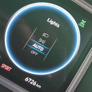 Hyundai Kona N Line Premium driver's dash feature