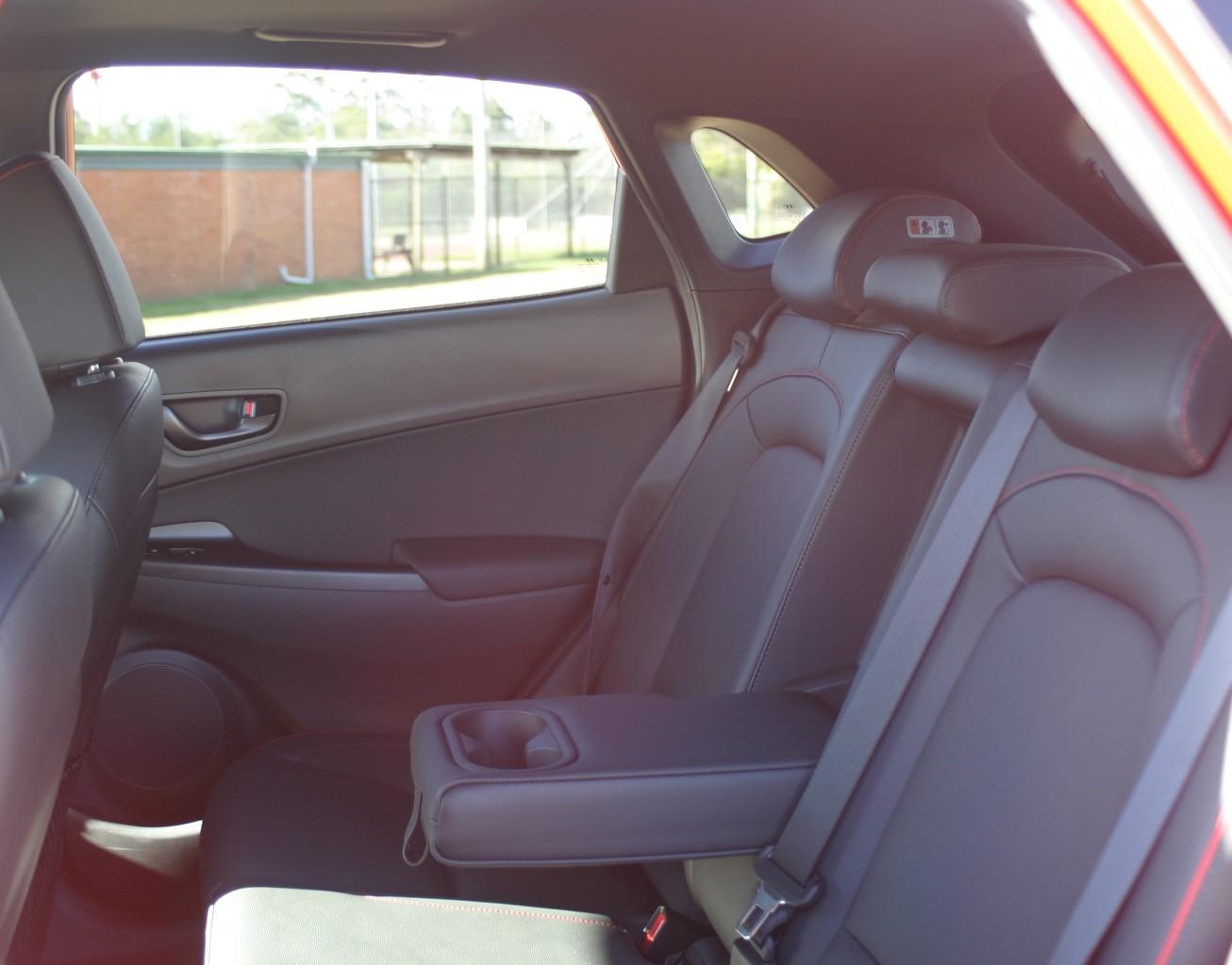 Hyundai Kona N Line Premium rear seats