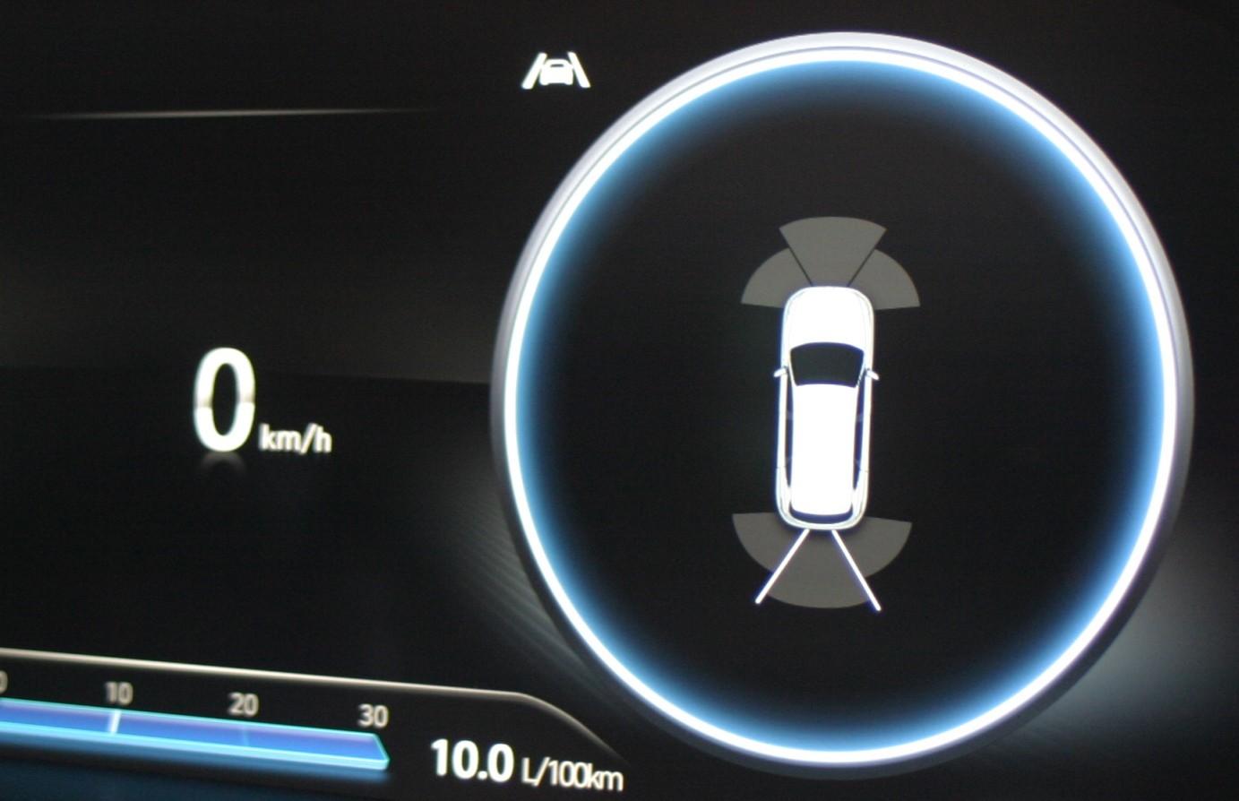Hyundai Santa Fe Highlander V6 Petrol rear sensors