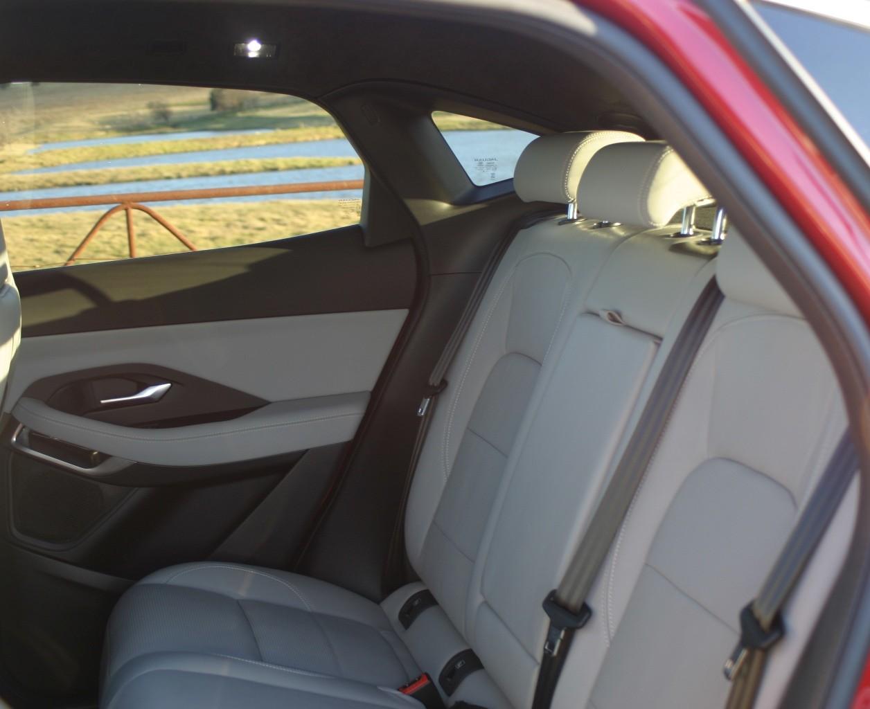 Jaguar E-PACE R-Dynamic S P250 rear seats