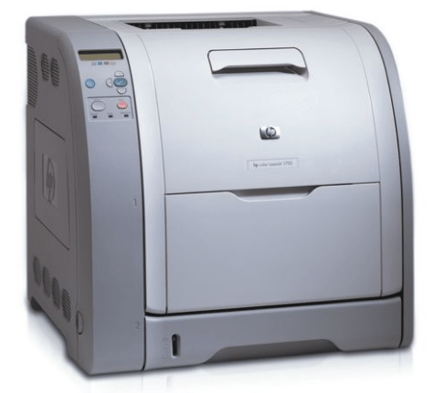 HP Color LaserJet 3700d Driver