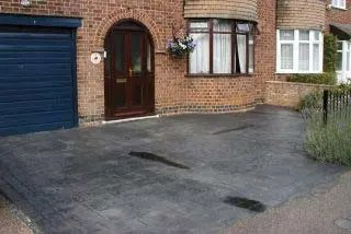 Revive Your Dull Pattern Concrete Driveway