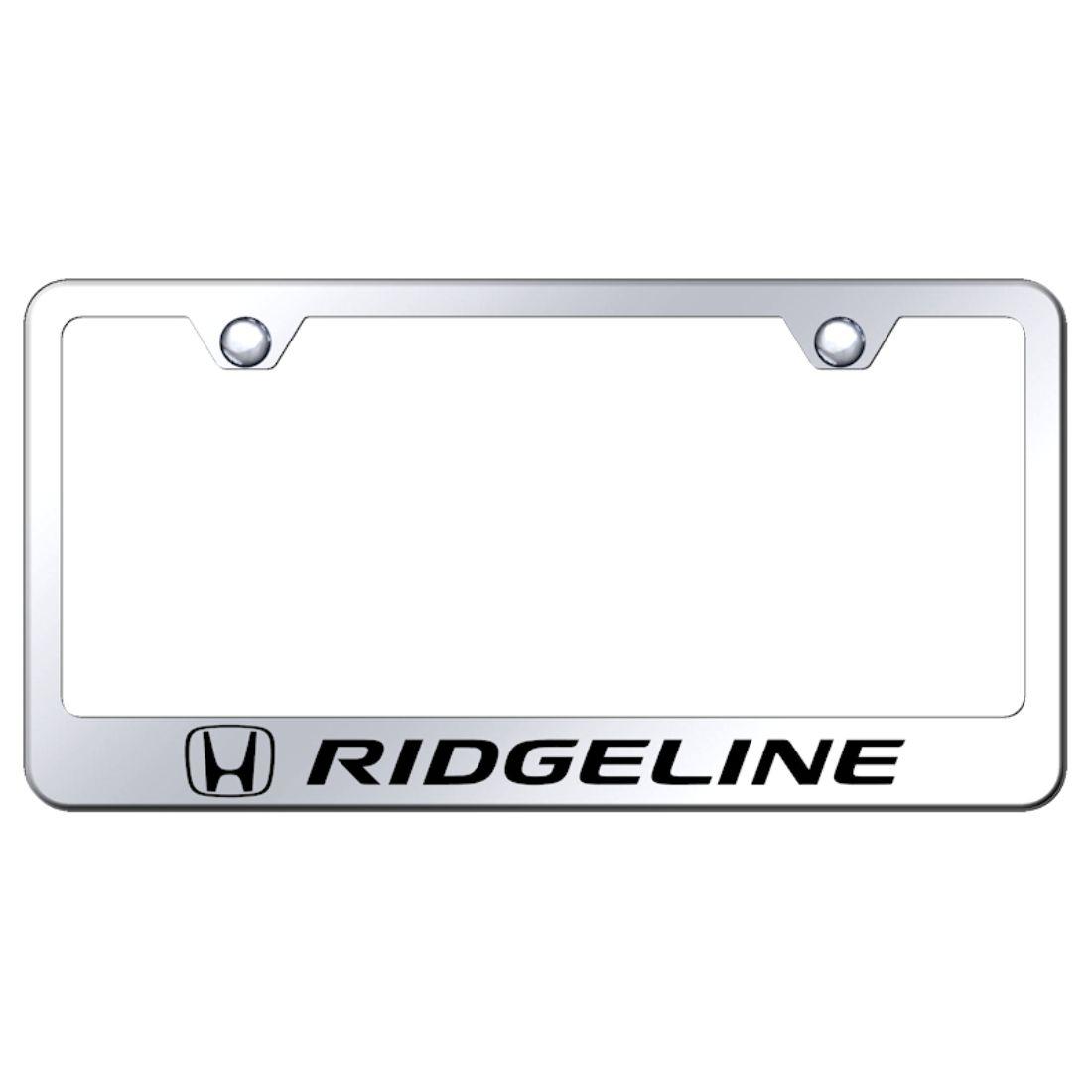 Plate Honda License Mirrored