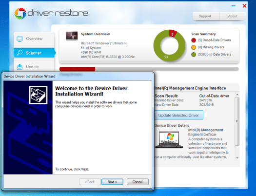 windows 7 driver installation process