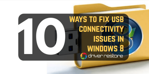 'USB Not Detected' + Other Connectivity Issues In Windows 8