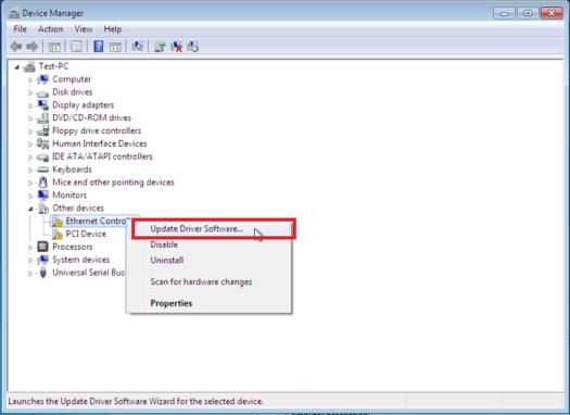 update driver software windows 10