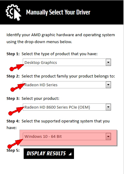 amd radeon hd 6310 graphics drivers download