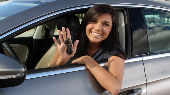 teen driving lesson
