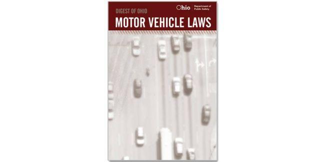 Digest of Ohio Motor Vehicle Laws 2020