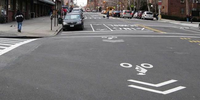 Shared-lane markings - Jim Henderson