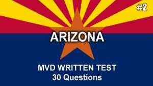 Arizona MVD Written Test - Video 2 by driversprep.com
