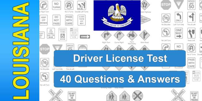 Video: Louisiana Driver License Test