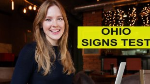 Video: Ohio Road Signs Test - 40 questions