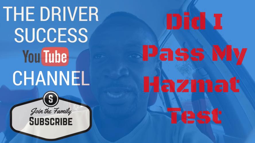 driver success pass cdl test