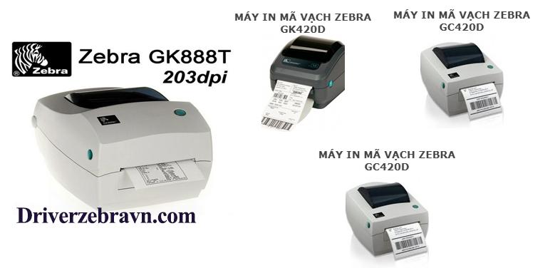 máy in mã vạch zebra gk888t
