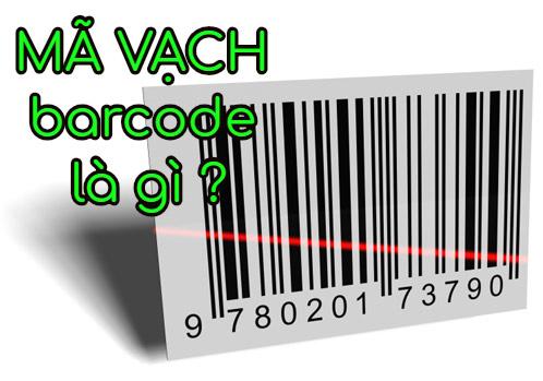 Mã vạch là barcodes