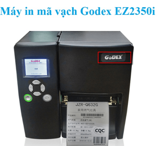 Máy in Godex giá rẻ, may in godex gia re, máy in mã vạch godex g500