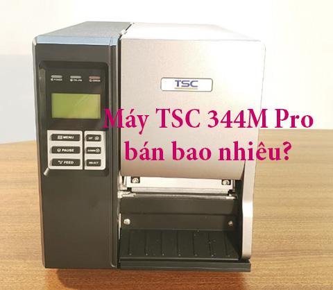 máy in tem mã vạch TSC 344M Pro