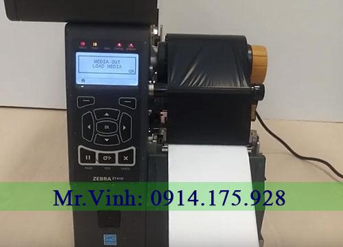 máy in tem nhãn bị lỗi