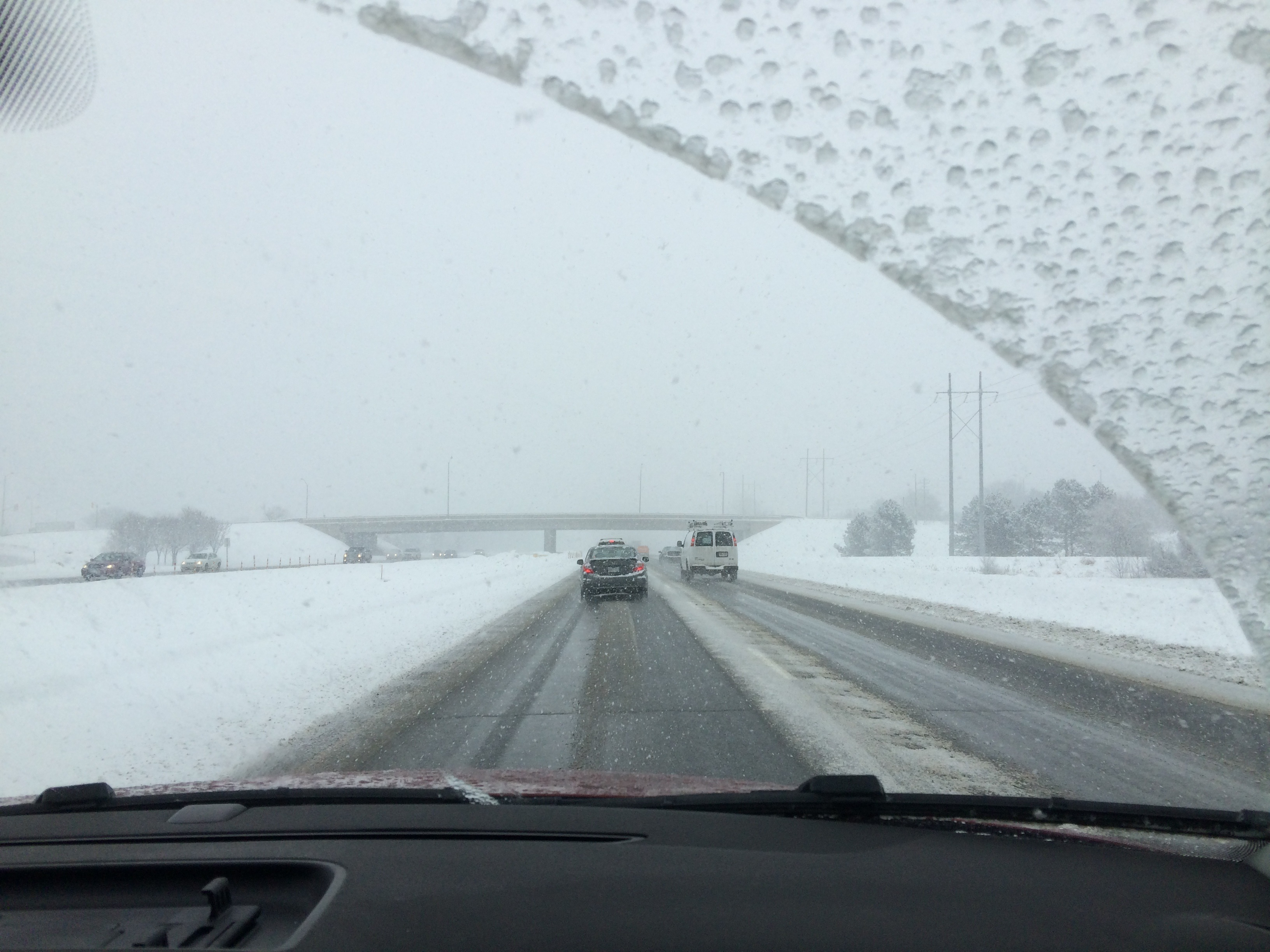 driving on icy roads
