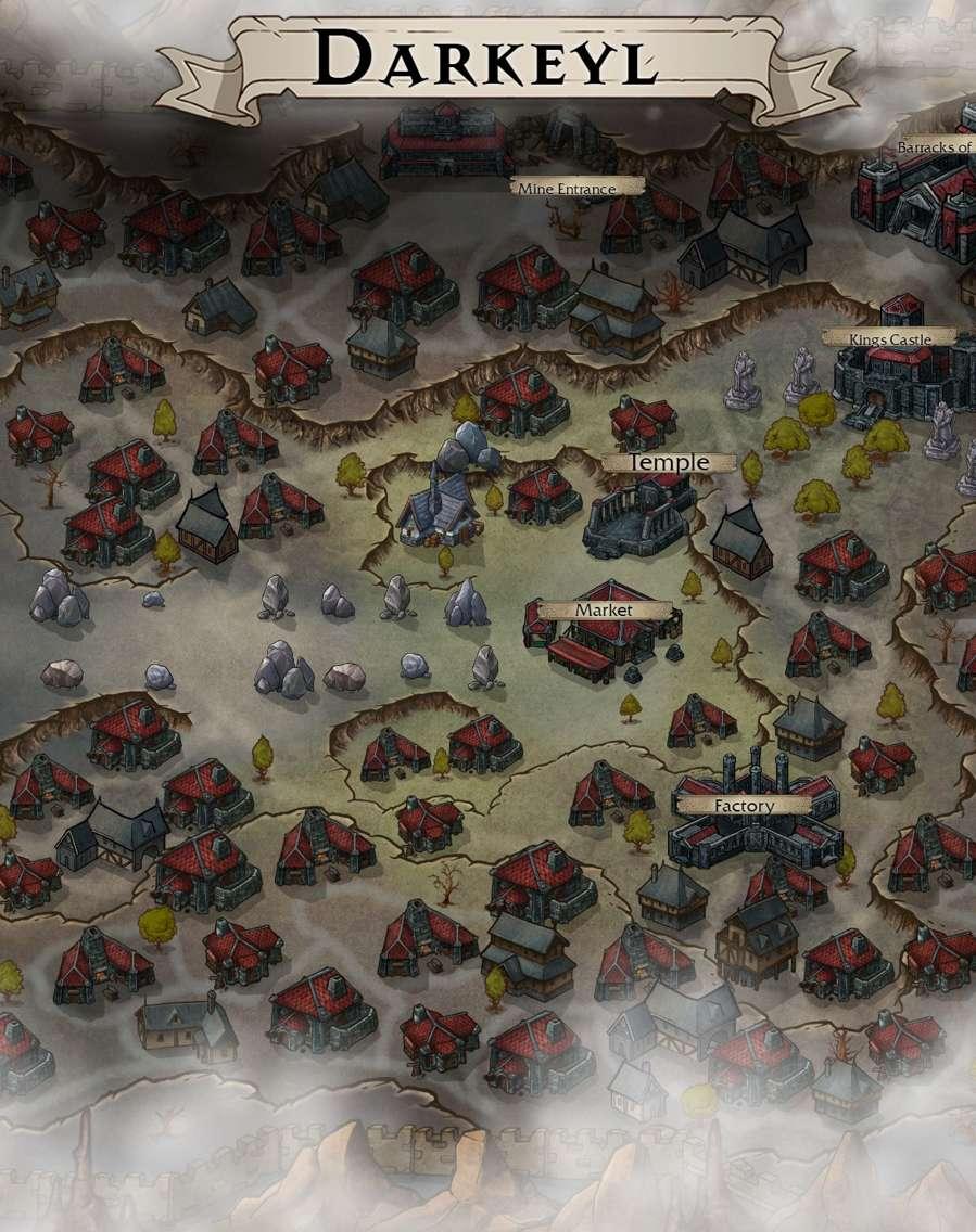 Dwarven City Map : dwarven, Darkeyl