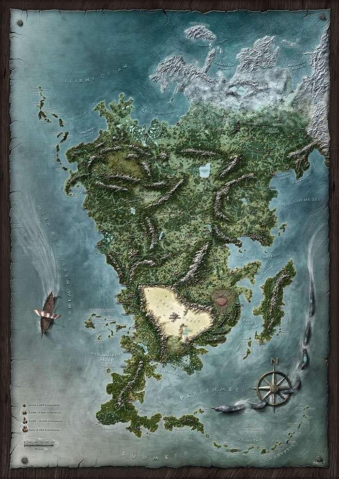 Exalted 3e Map : exalted, Aventuria, Ulisses, Spiele, DriveThruRPG.com