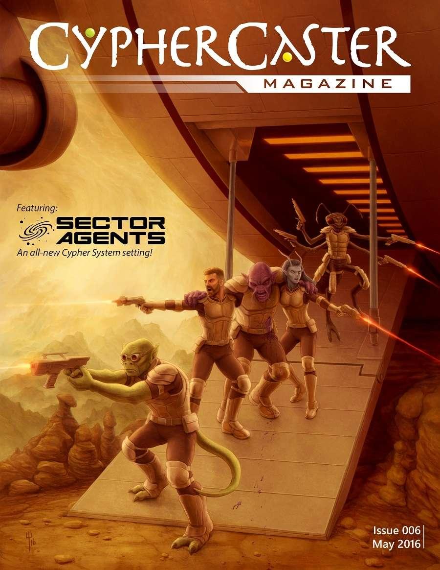Cypher Caster Magazine