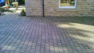 Plaspave Sorrento Block paving Driveway to be fully restored in Pudsey,Leeds.jpg
